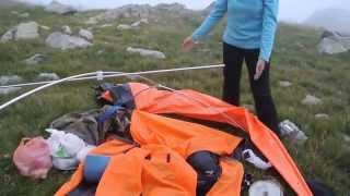 тест драйв палатки фритайм  Freetime Sapa II  часть 1