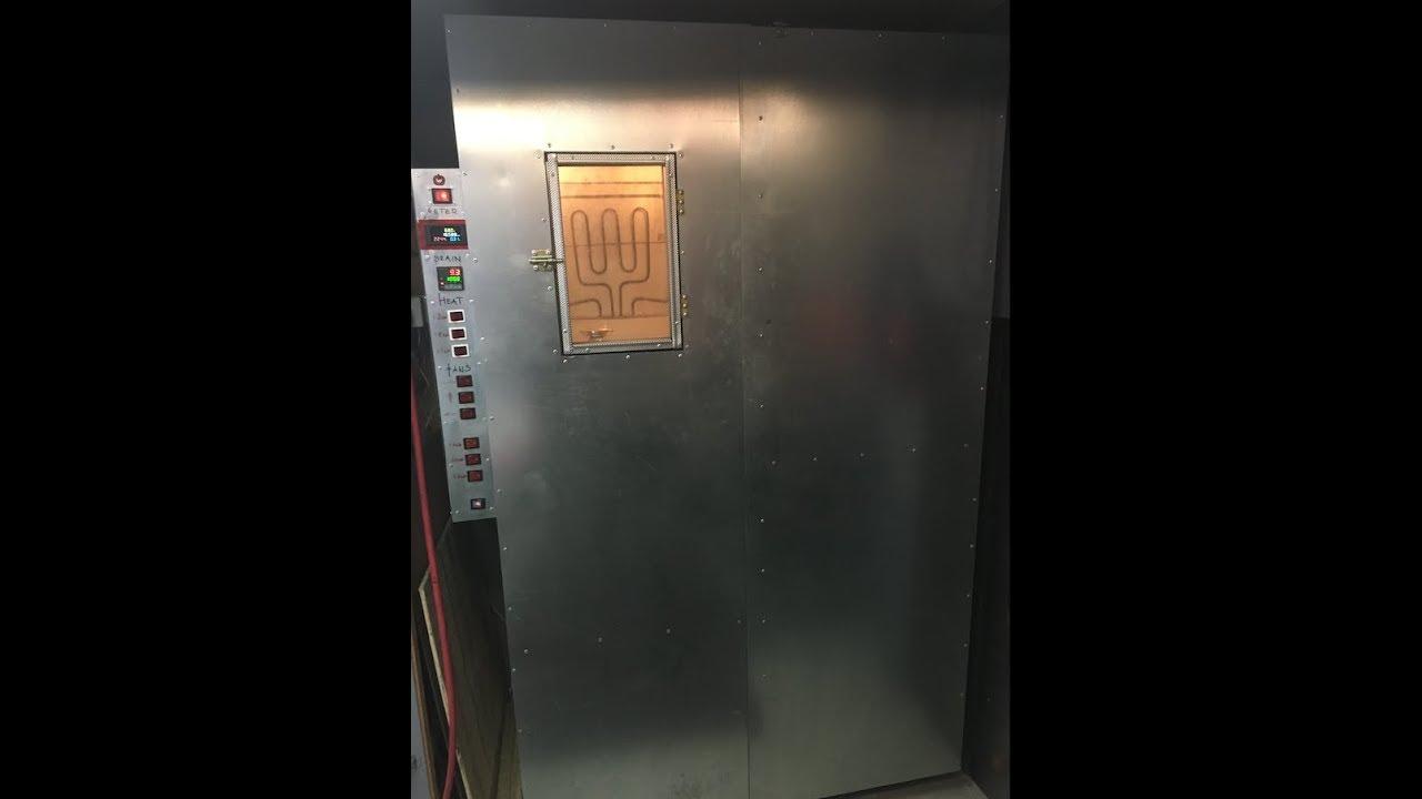 Powder coating oven-DIY