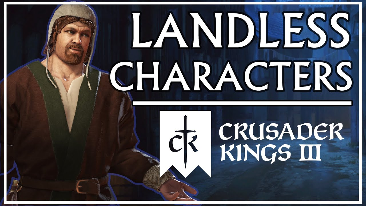 The Most Interesting Unlanded Characters in CK3