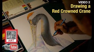 How I Draw with Colored Pencils