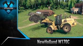 Spin Tires NewHolland W170C