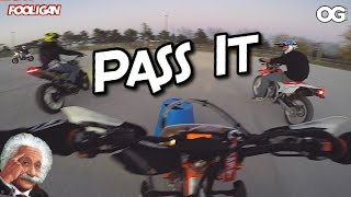 Dirt Bike Soccer | Stunt Riders Save a Life!