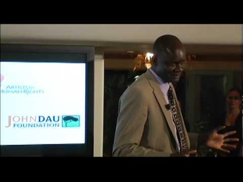 "John Bul Dau: ""Lost Boy"" of Sudan, Motivational Speaker and Genocide Survivor"