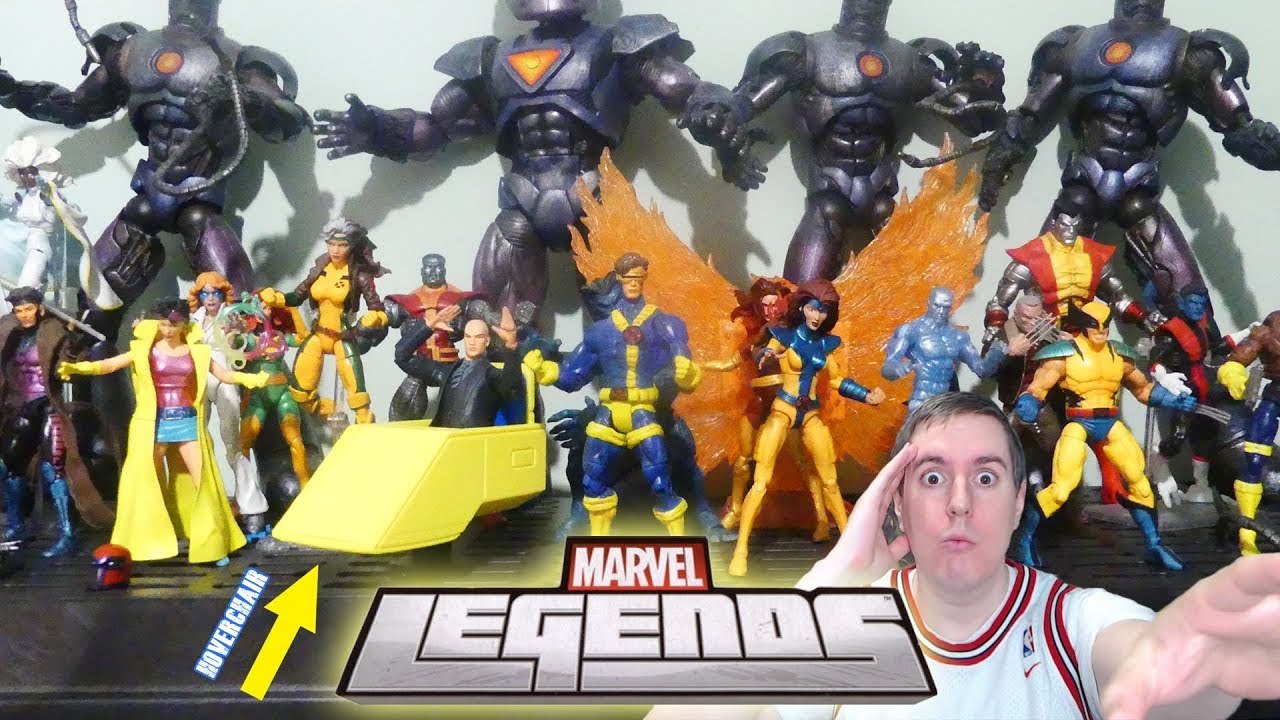 Marvel Legends 2017 Collection Professor X Hover Chair