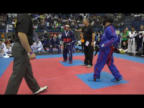 2016 Taekwondo International World Championships Michael Kaplan vs