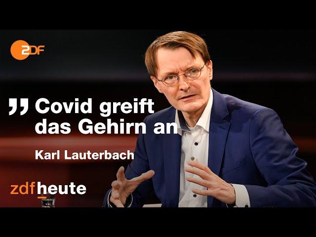 Corona: Diskussion um Wellenbrecher-Lockdown   Markus Lanz vom 28. Oktober 2020