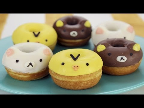 How to Make Rilakkuma Donuts!