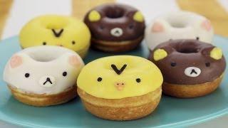 How To Make Rilakkuma Donuts!