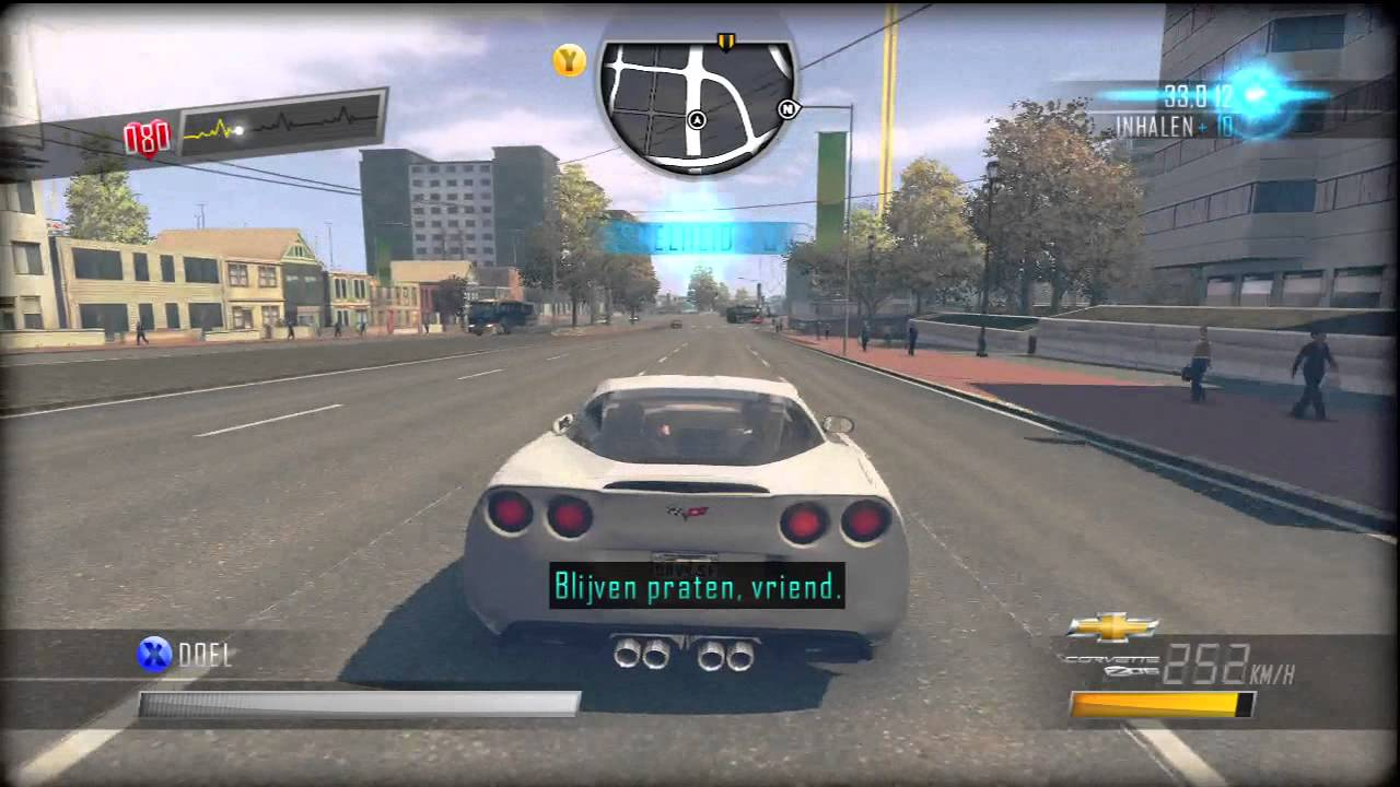 Driver: San Francisco | Corvette C6 Z06 Gameplay [Xbox 360 ...