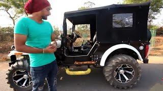Modified 4x4 Jeep