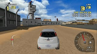 Ford Racing 2 PS2 Gameplay HD (PCSX2)