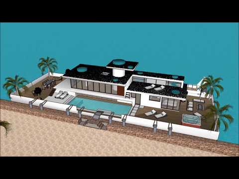 New Zealand Houseboat timeshare airbnb in GHANA PUERTO RICO IRELAND Rental Houseboat floating house