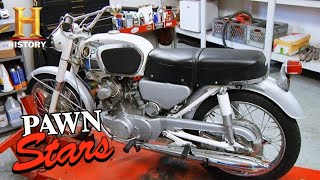 Pawn Stars: LEGENDARY '66 Honda CB-160 (Trip to Sturgis Part 3) | History