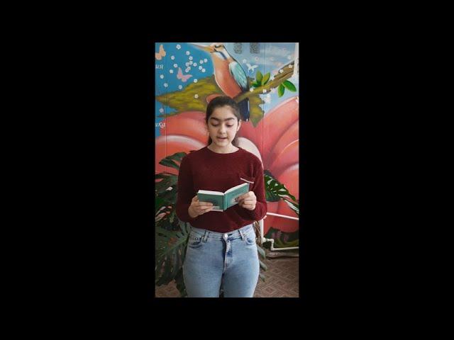 Изображение предпросмотра прочтения – МарияАбаджян читает произведение «Черёмуха» С.А.Есенина