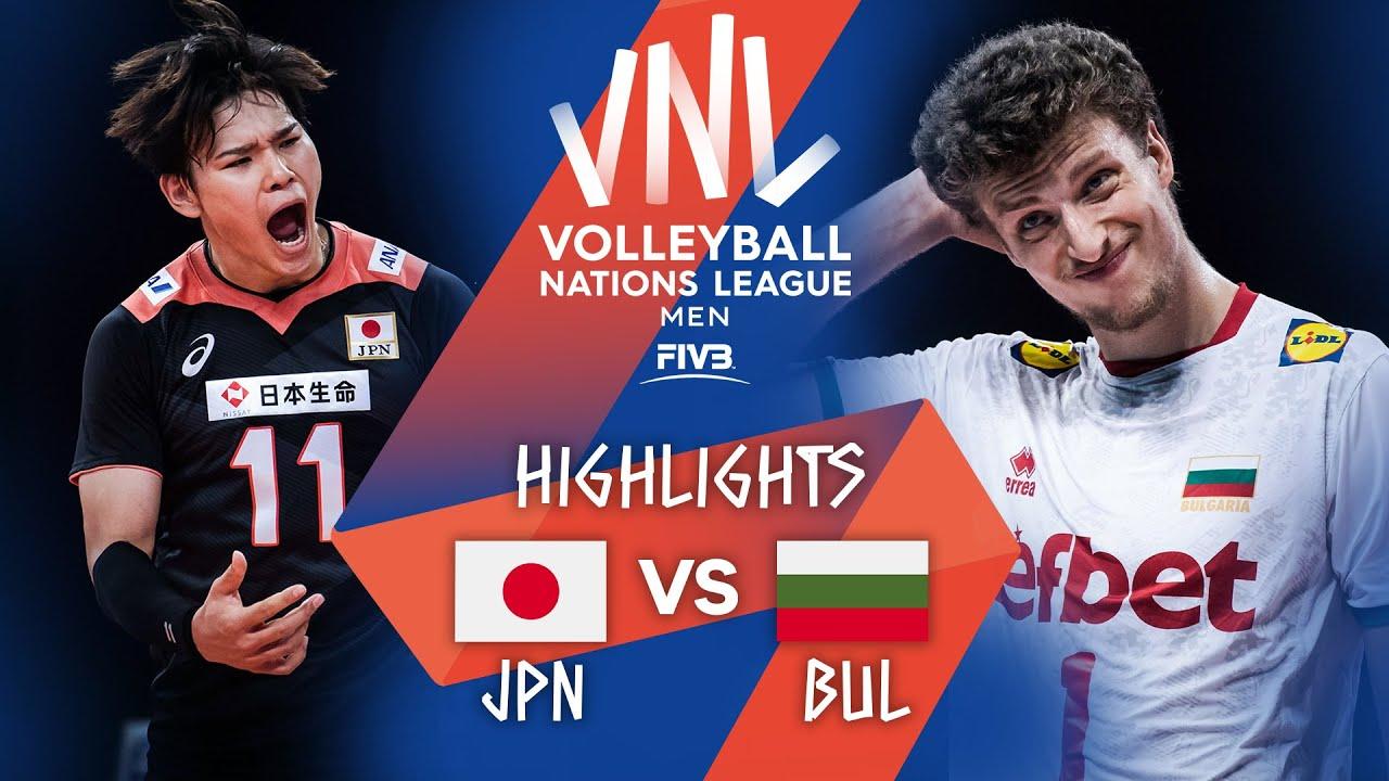 Download JPN vs. BUL - Highlights Week 5 | Men's VNL 2021