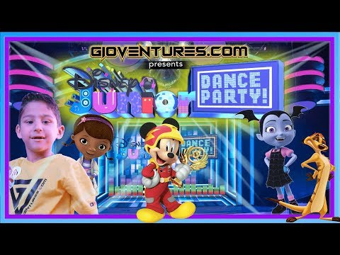 Disney Junior Dance Party - New Interactive Party at Disney - Hollywood Studios