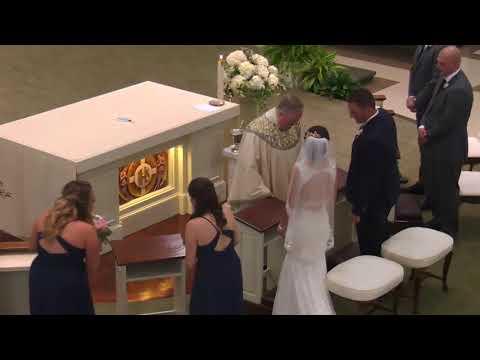 The Sacrament of Matrimony of Samuel & Kimberly Bombaugh 8 12 2017