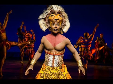The Lion King Broadway Cast Endless Night With Lyrics Youtube