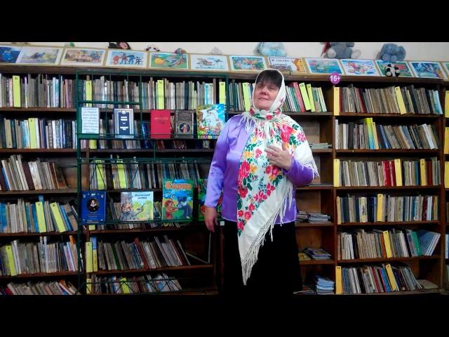 Изображение предпросмотра прочтения – Людмила ВикторовнаОрлова читает отрывок изпроизведения «Мороз, Красный нос» Н.А.Некрасова