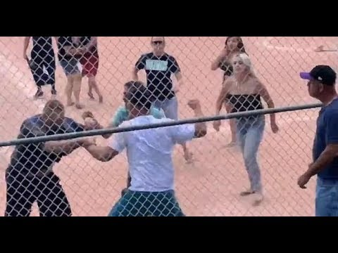 ODM & Evelyn In The Morning - New Disturbing Footage Of Parents Brawling During 7 year old Baseball Game