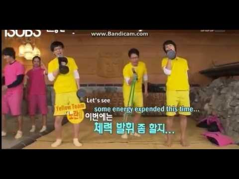 Running Man Funny Gym Karaoke