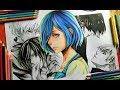 Drawing Touka Kirishima and Kaneki (Tokyo ghoul season 3)