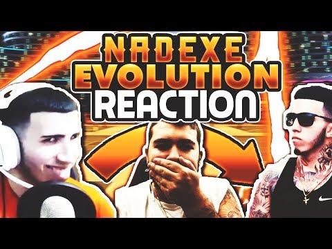 NBA 2K17 NADEXE THE EVOLUTION 2k16-2k17 Reaction !!!
