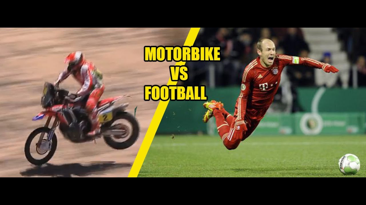 motocross v football