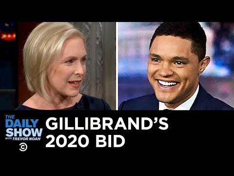 Kirsten Gillibrand's 2020 Bid, YouTube's New Ban & Karen Pence's Anti-LGBTQ Gig | The Daily Show