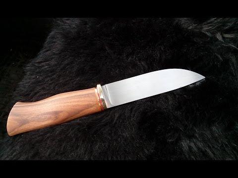 Как сделать ровную, красивую рукоять ножа,своими руками.