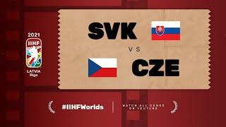 Highlights: SLOVAKIA vs CZECH REPUBLIC | 2021 #IIHFWorlds