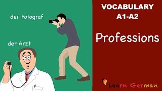 English Vocabulary for Jobs and Occupations