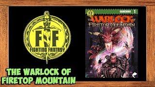 Fighting Fantasy Classics The Warlock of Firetop Mountain Book Walkthrough