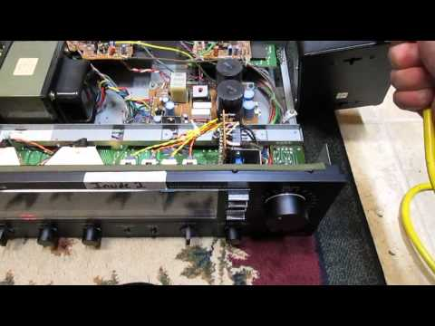 Fisher Studio Standard Amp Problem