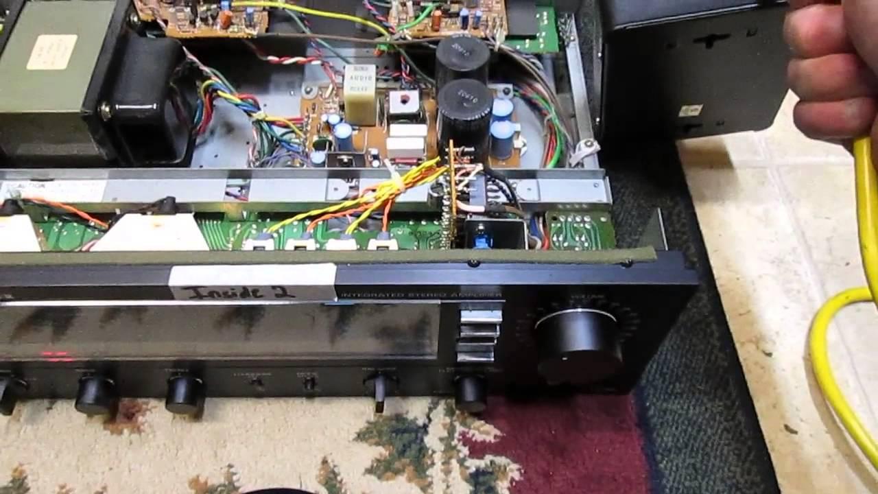 fisher studio standard amp problem youtube Pioneer Radio Wiring Diagram fisher studio standard amp problem