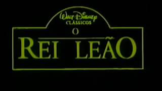 O Rei Leão (The Lion King), De Roger Allers E Rob Minkoff , 1994, Disney - TRAILER