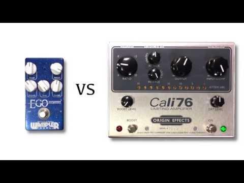 Wampler Ego Compressor vs Origin Effects Cali 76