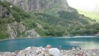 Турье озеро, Домбай(, 2016-08-18T17:04:30.000Z)