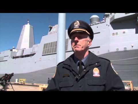 USS Arlington Arrives at Port