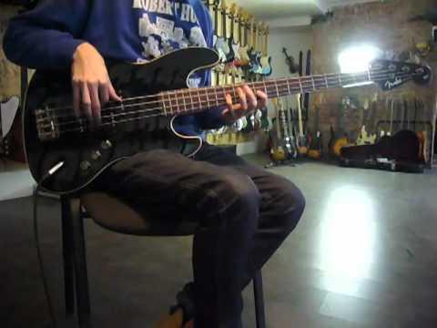 Fender Jazz bass aerodyne
