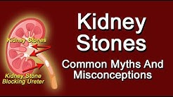 Common Myths And Misconceptions About Kidney Stones