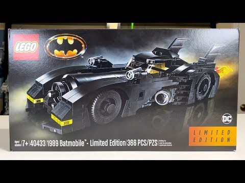 LEGO 40433 1989 Batmobile Review! Limited Edition!