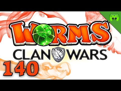 WORMS CLAN WARS # 140 - Being John Wormovich «» Let's Play Worms Clan Wars   Full HD