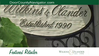 Wilkins & Olander Shops | Sturgeon Bay & Fish Creek | Door County WI