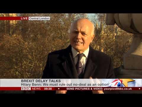Iain Duncan Smith MP on BBC News