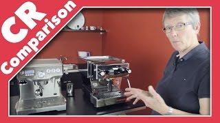 Breville Dual Boiler vs Linea Mini   CR Comparison