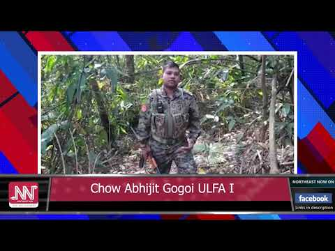 Software Engineer Abhijit Gogoi from Moran joins ULFA I