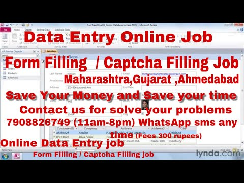 Fraud From Filling & Data Entry Job From Surat, Gujarat, Maharashtra, Work For Home BEWARE OF SCAM
