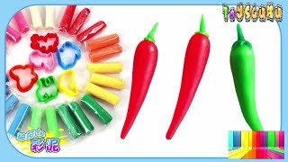 Making Play Doh Toys For Kids | Colors Clay Toys For Children | Video For Kid #02