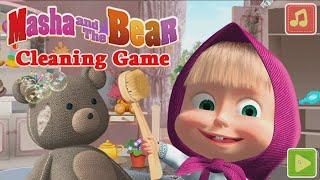 Игра Маша и Медведь. Уборка. Детские игры Маша и Медведь